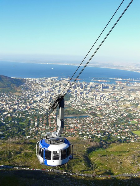 Cape Town Cable car to Table mountain
