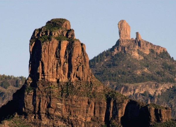 Roque Nublo and Bentaiga