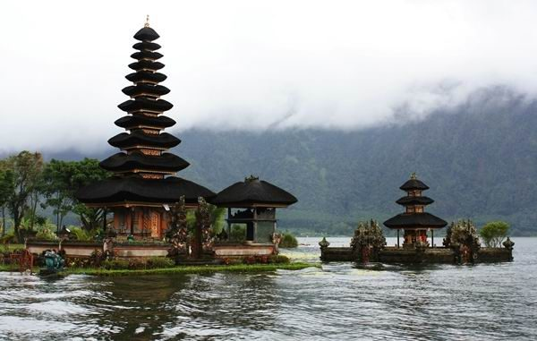 Ancient temple at Bedugul Bali