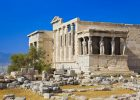 Athens, Erechtheum temple in Acropolis