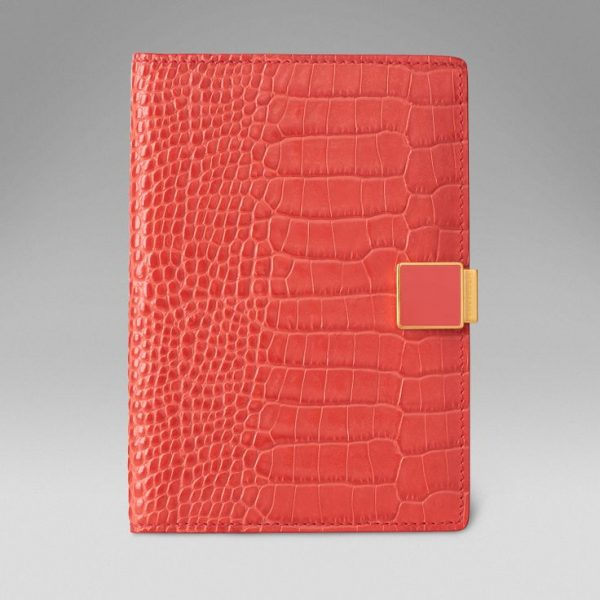 Smythson Mara Collection Passport Cover