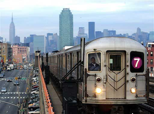 New York City train