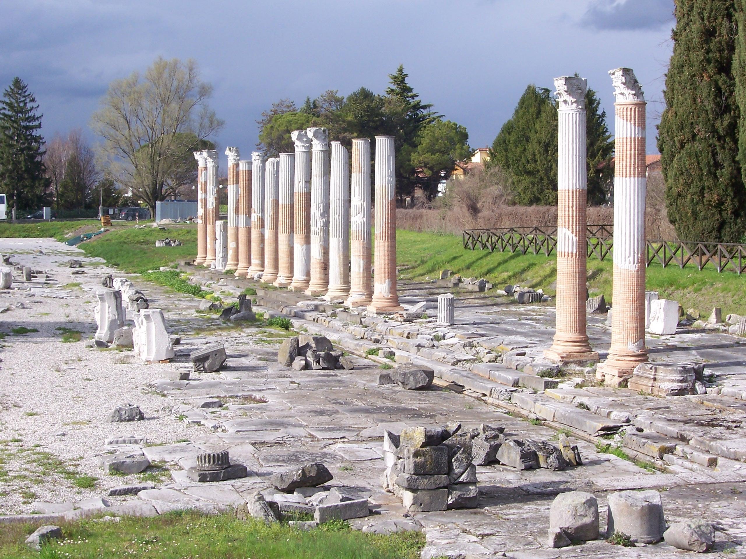 Foro Romano, Aquileia
